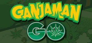 Ganjaman Go is The Pokemon Go for Cannabis Enthusiasts